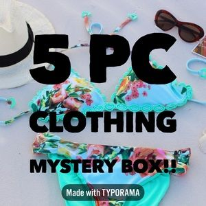 5 Pc Resellers Mystery Clothing Box!